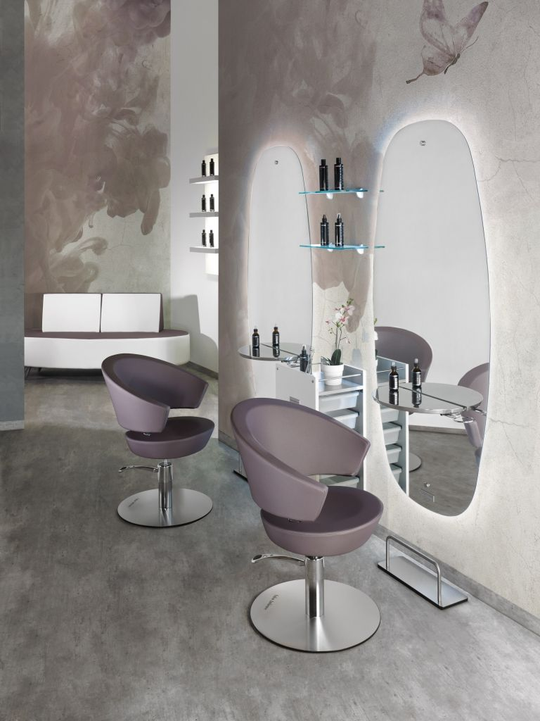 Arredo Gamma Office Srl.Cosmos Line Salon Ambience Hairdressing Furniture Made In