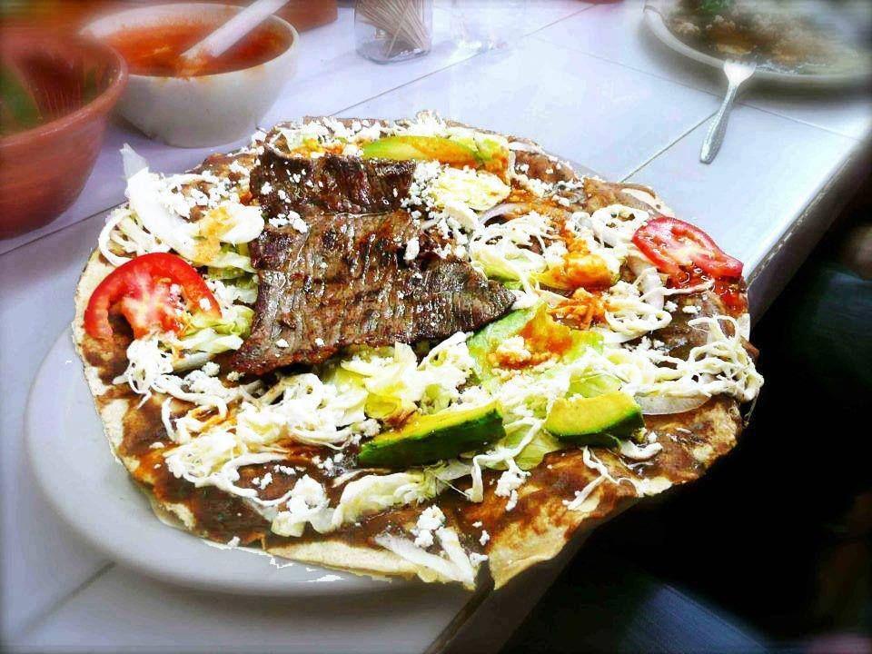 Jmjm78 Tlayuda Con Carne Asada Oaxaca Mexico Tlayudas Viva Mexico Carne Asada