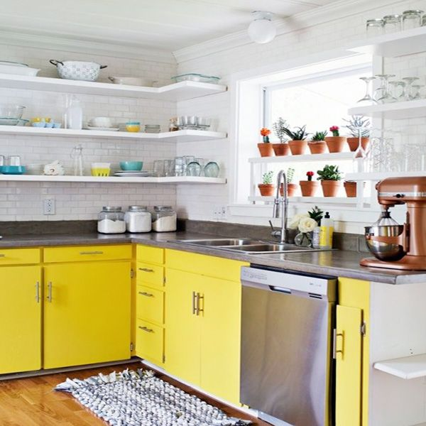 Open Shelf Ideas For Small Kitchen