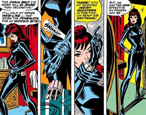black widow comic strip - photo #20