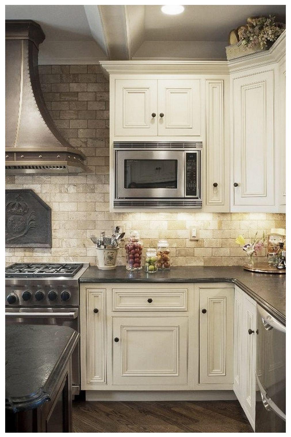 20 Insanely Beautiful Mediterranean Kitchen Design Elements Ideas Mediterranean Kitchen Design Modern White Kitchen Cabinets Kitchen Backsplash Designs