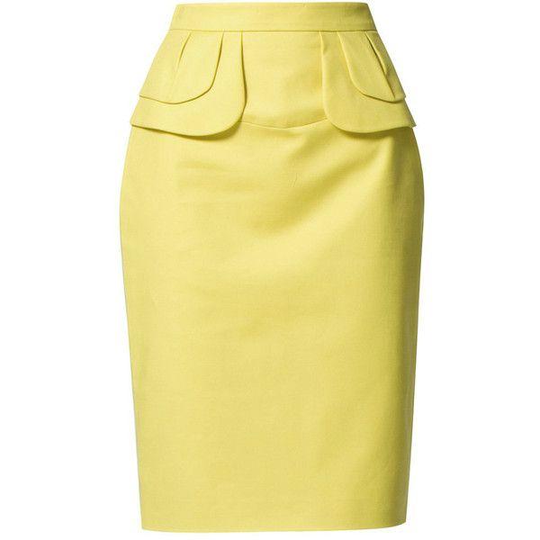 El shopping Zalando ❤ liked on Polyvore featuring skirts and faldas