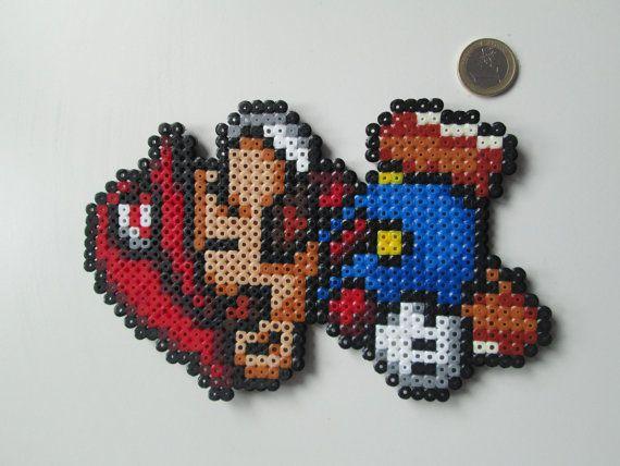 Figura Mario Bros decorativa por FRIKIREGALO en Etsy