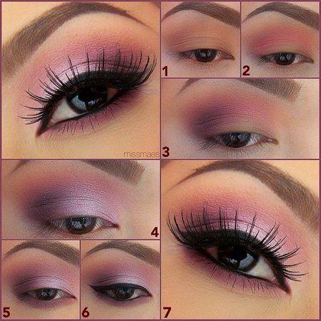 Up For Some Soft Pink Eye Make Up Maquillaje De Ojos