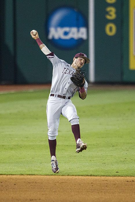 Texas A M Blake Allemand Espn Sportscenter Top Play 2015 Against Lsu Photo By Andrew Woolley College Baseball Espn Sportscenter Aggie Baseball