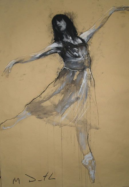 Tamara dancing by Mark Demsteader.