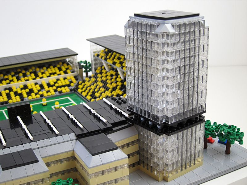 Råsunda in Lego! AIK's home 1937-2012.
