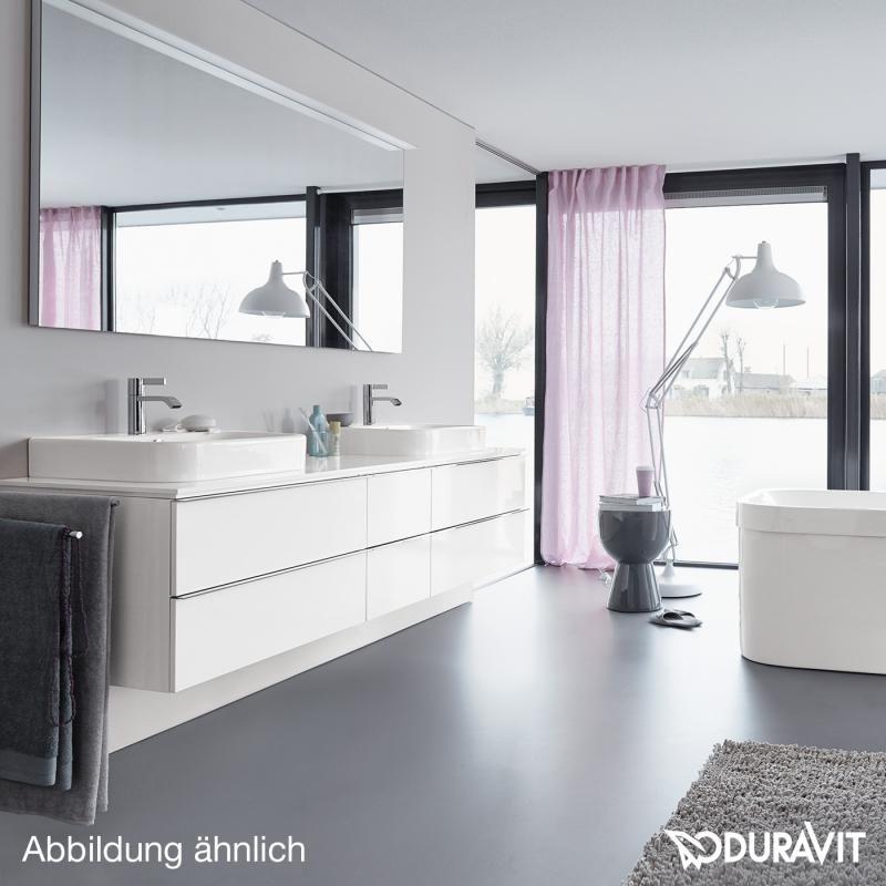 Duravit Happy D2 Aufsatzbecken weiß mit Wondergliss Badezimmer - happy d badezimmer