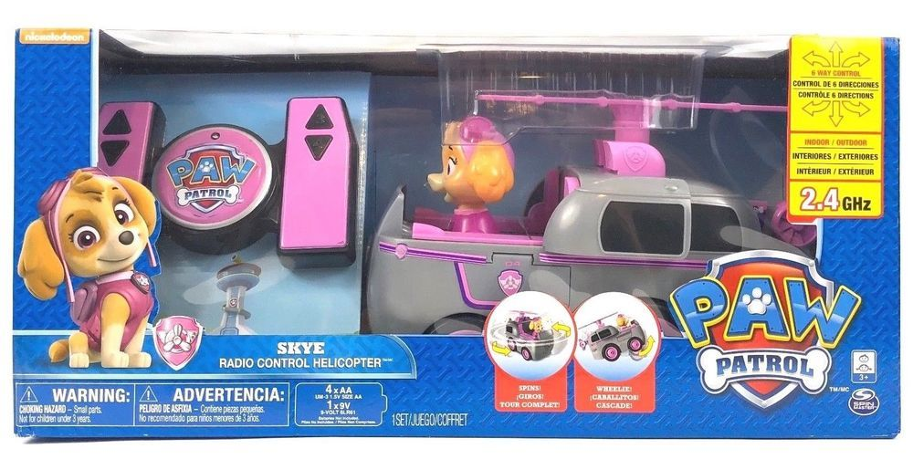 Paw Patrol My First RC Skye Radio Control Helicopter Kids Remote Control  Toy  1774b33e0e4a