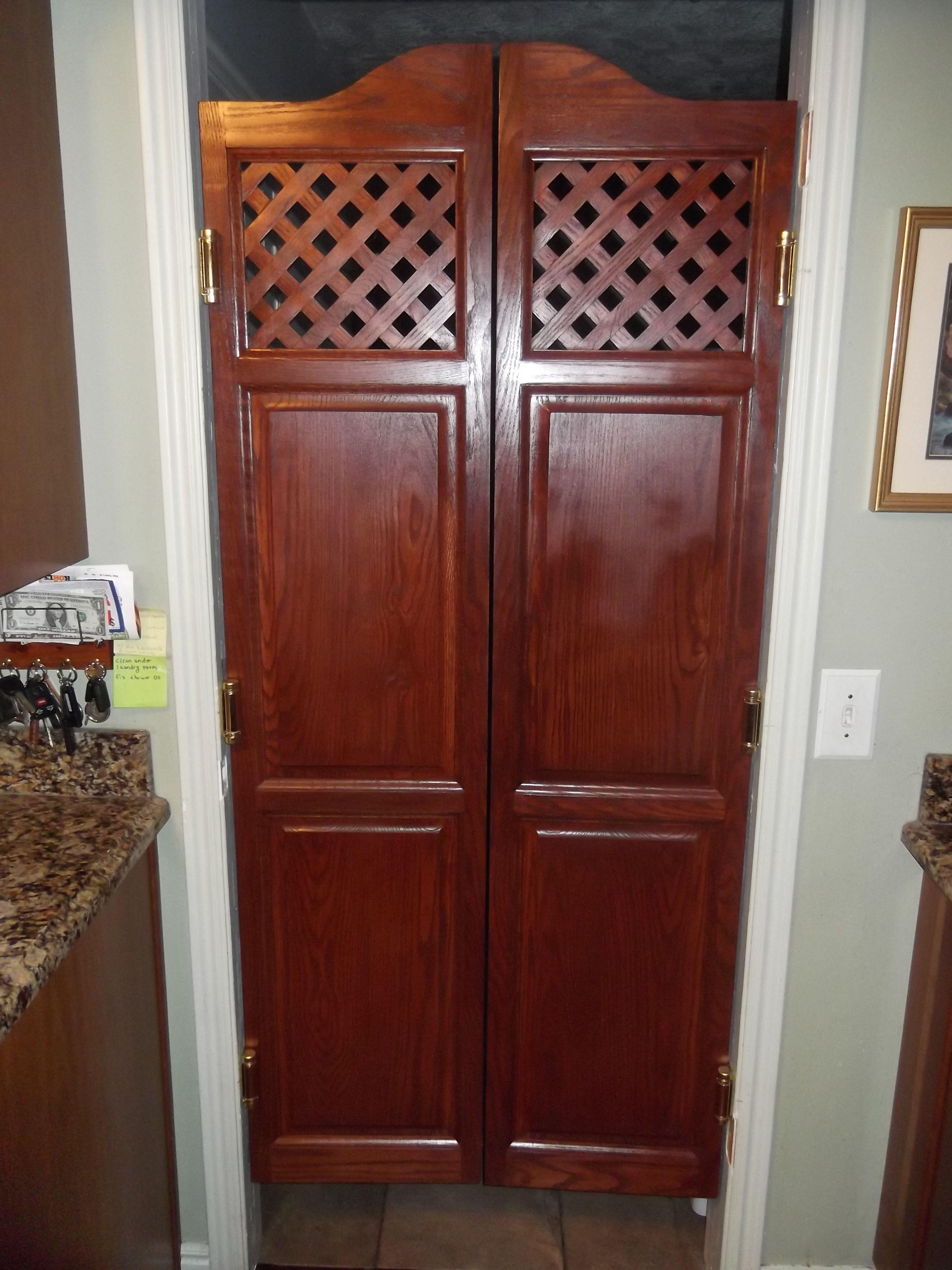 Www Swingingcafedoors Com Cafe Door Kitchen Doors Wooden Doors
