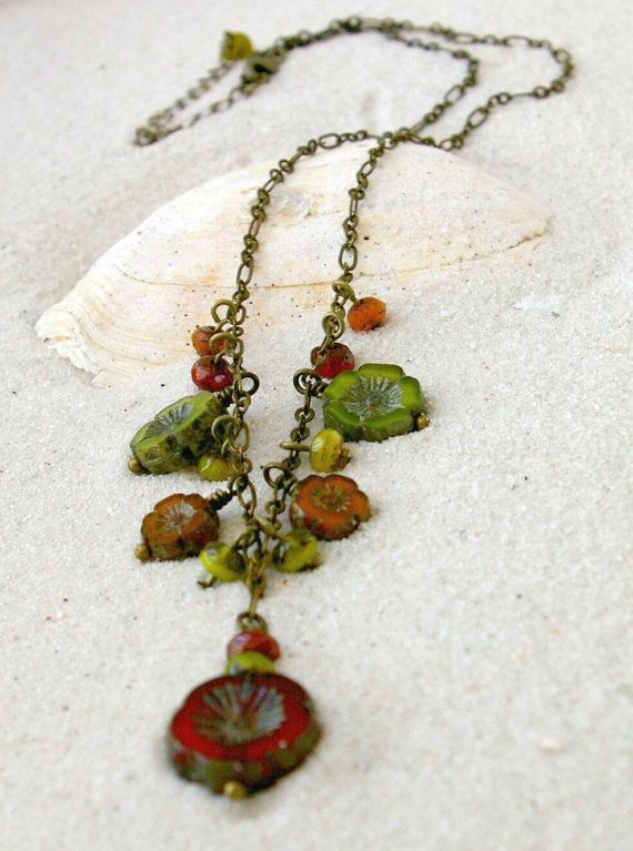 Handmade Necklace Beaded Necklace Bead by CraftLikeAnArtist