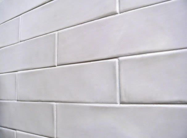 Satin White Subway Tiles This Spanish Tile Range Have A Curved Perimeter Edging To The Adds Hand Made Look Of These Metro