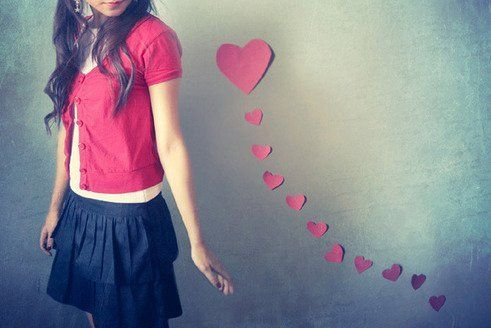 love will follow you....