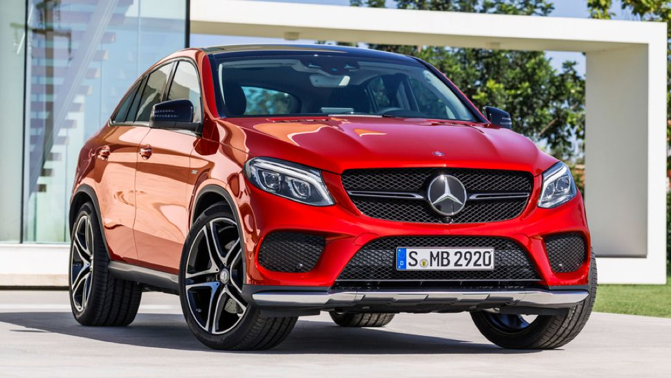 2016 Mercedes Benz Gle 450 Amg Coupe This Is It Mercedes Benz