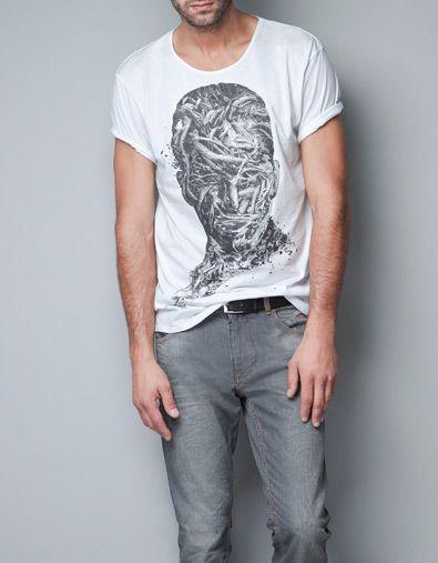 CAMISETA BATMAN Camisetas Hombre ZARA Colombia