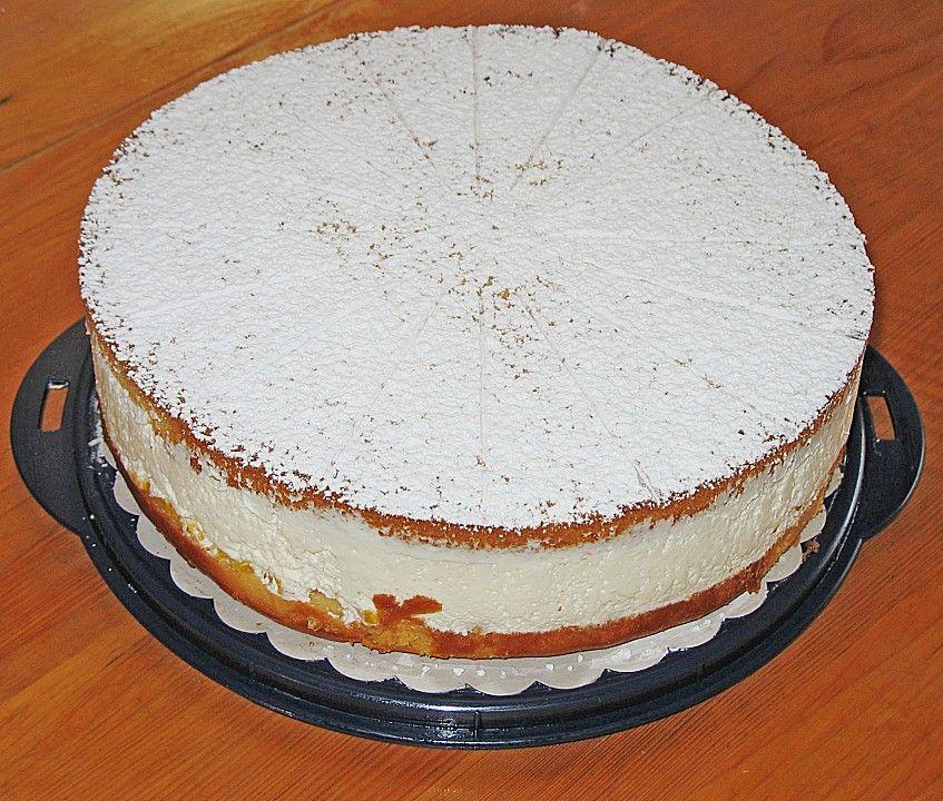 Kasesahne Ohne Gelatine Von Rosiemarie Chefkoch Rezept Kuchen Und Torten Rezepte Backen Kuchen Und Torten