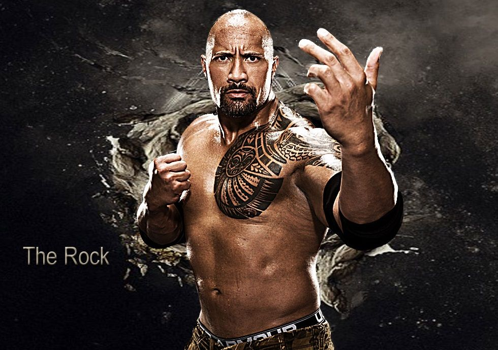 The Rock 2013 HD Wallpaper