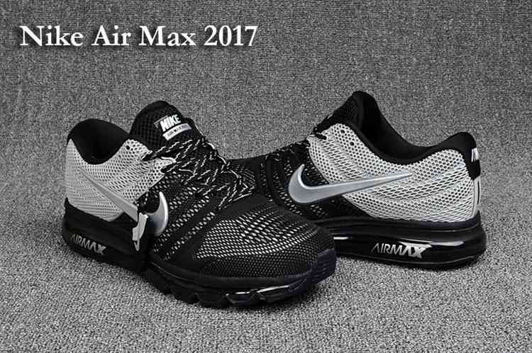 size 40 3e771 cbcf8 Nike Air Max 2017 Top Black Gray Men