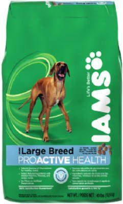 Iams Pro Active Health Adult Large Breed 40 Lbs Learn More By