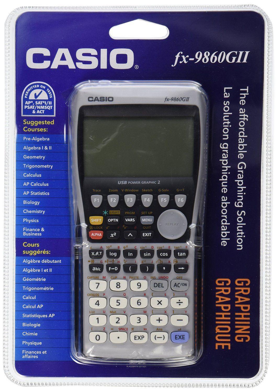 Amazon casio fx 9860gii graphing calculator black office amazon casio fx 9860gii graphing calculator black office products biocorpaavc