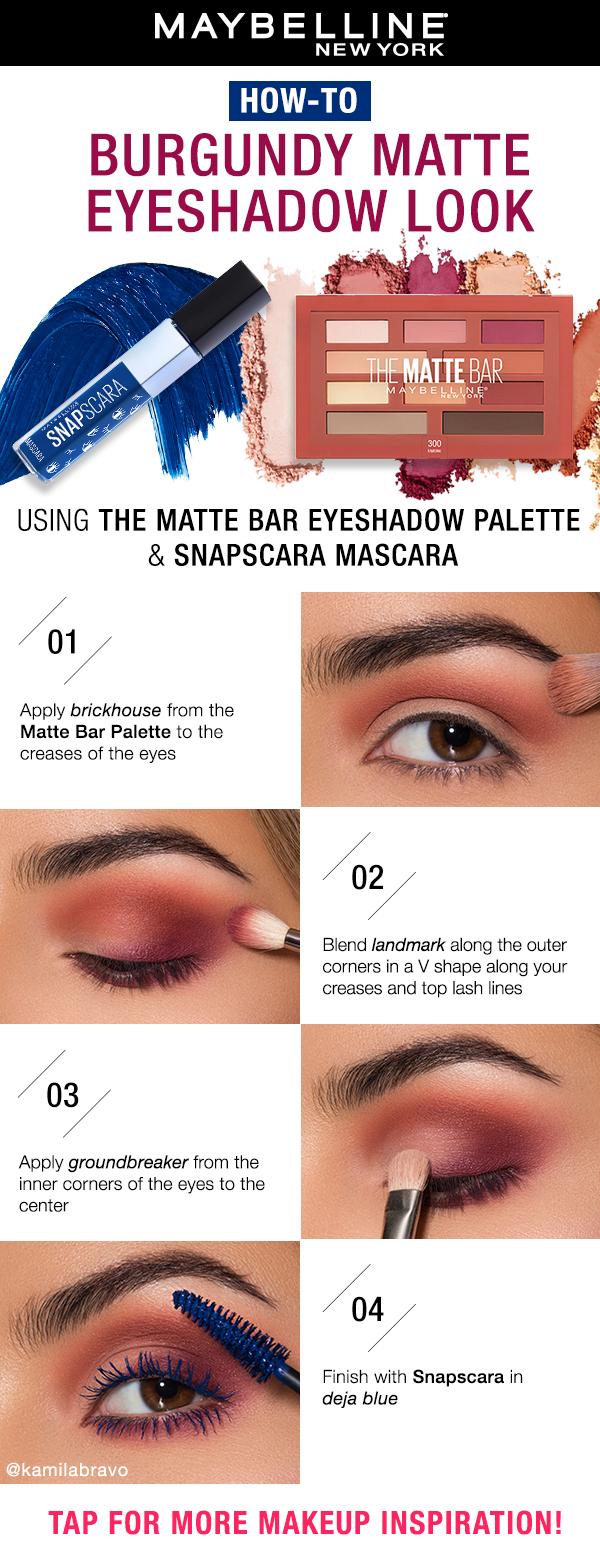 17+ Maybelline burgundy palette tutorial trends