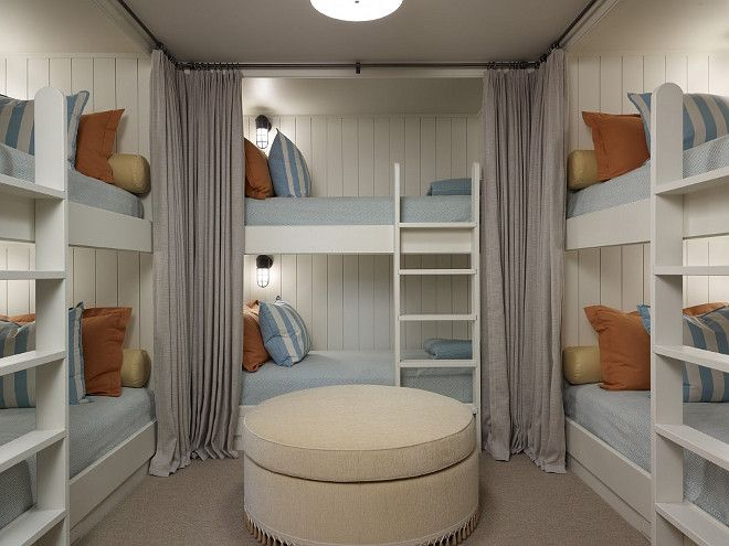 Bedroom Ideas With Bunk Beds bunk room. six bun beds in bunk room. bunk room layout. bunk bed