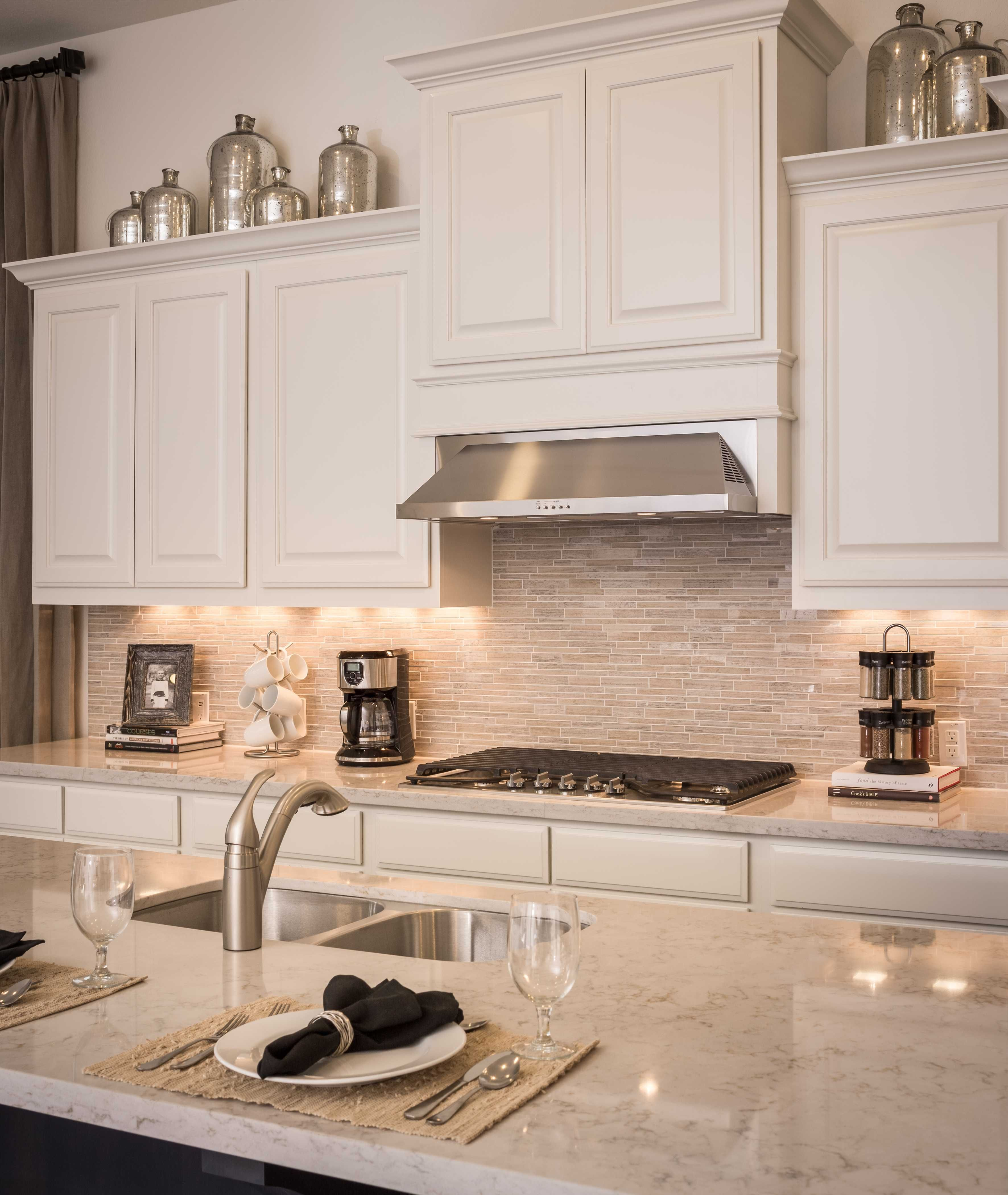 Modern Decorating Ideas For Above Kitchen Cabinets Decorating