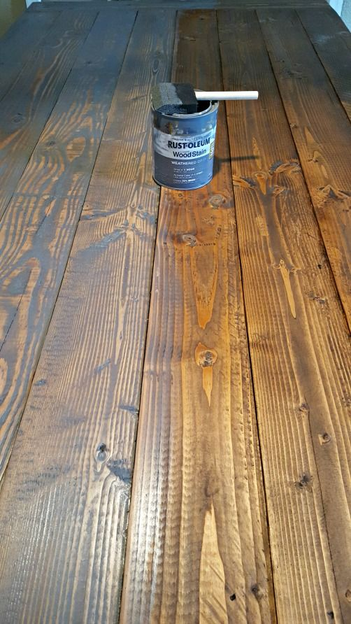 DIY Farmhouse Table - Leap of Faith Crafting #anawhite