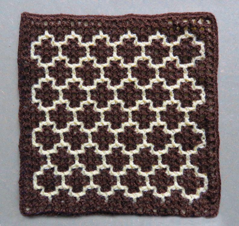 "Serendipity"" (Honeycomb) – Intermeshing – Double Filet ..."
