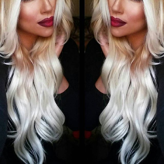 Platinum Blonde Hair Extensions Sallys Google Search Hair