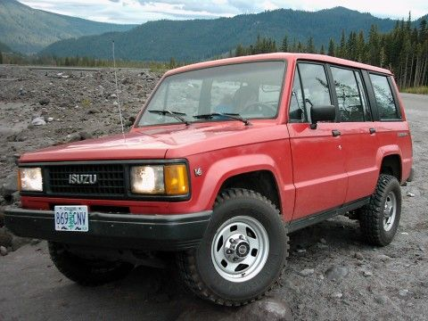 1991 Isuzu Trooper 4x4 Dream Cars Adventure Car Trooper