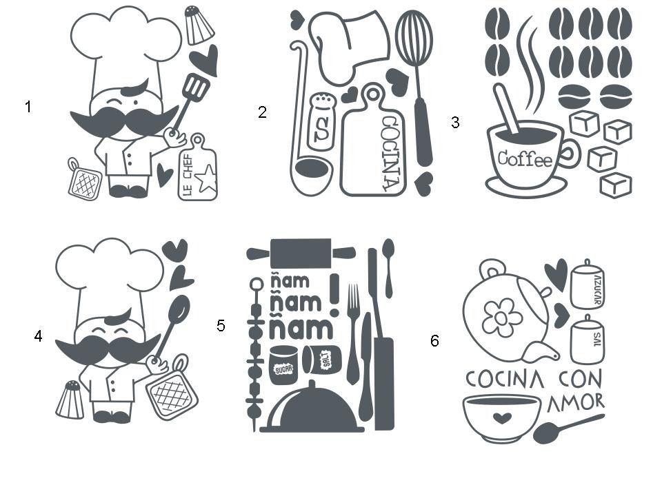 Vinilos para cocina buscar con google vinilos - Vinilos cocina originales ...