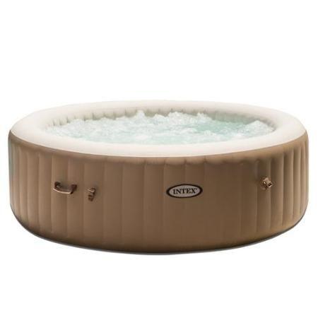 Intex Pure Spa 6 Person Inflatable Portable Heated Bubble Massage Hot Tub 28407e Portable Hot Tub Inflatable Hot Tubs Spa Hot Tubs