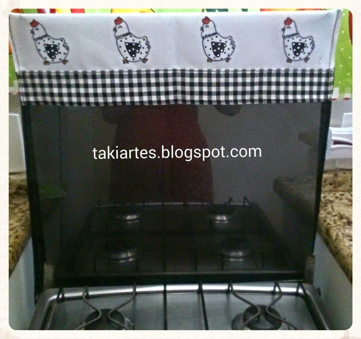 """""""TakiArtes""""     kit de cozinha preto e branco"""