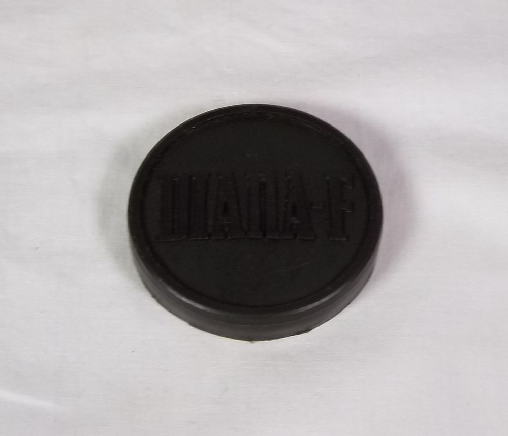 Vintage Lens Cap 2 For Diana F Camera Black Plastic Diana With Images Vintage Lenses Lens Diana