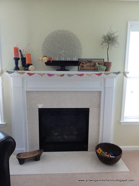 Made It Bird Garland Home Decor Decor Fireplace