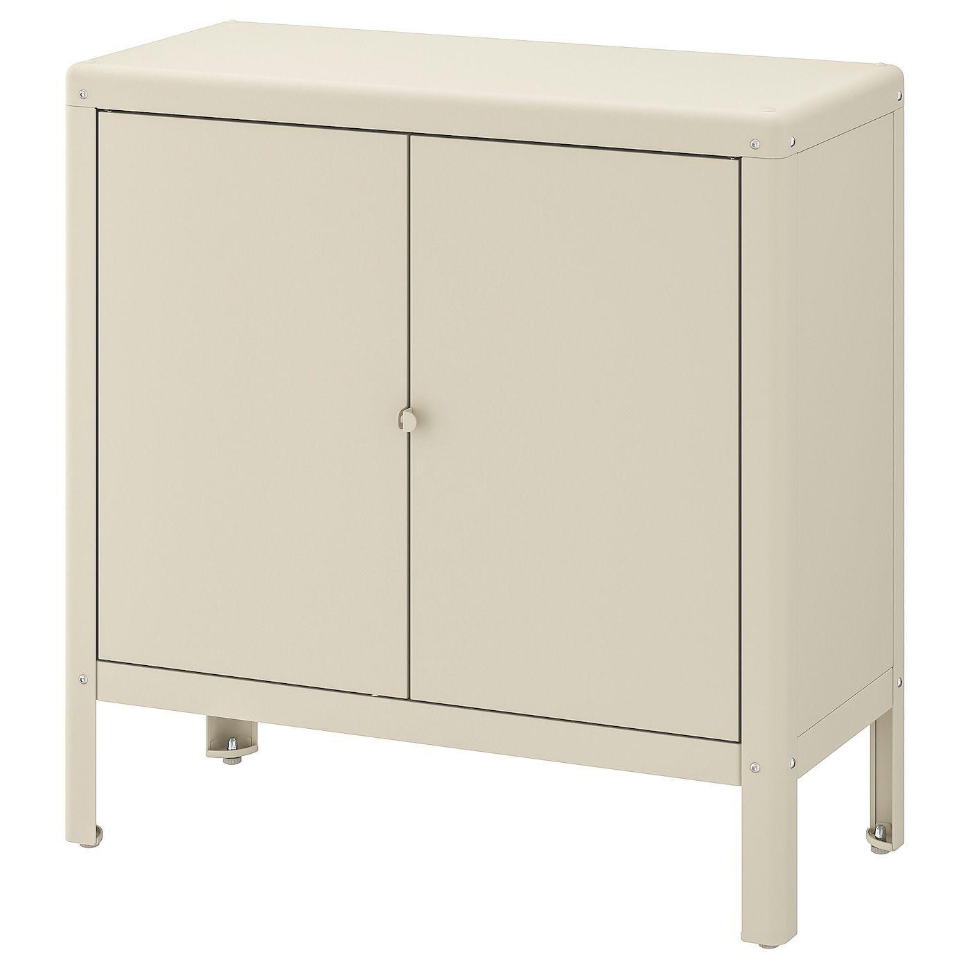 Kolbjorn Cabinet Indoor Outdoor Beige Ikea Beige Cabinet