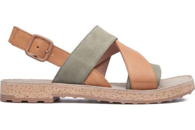 Camper Womens Pim Pom Gladiator Sandal