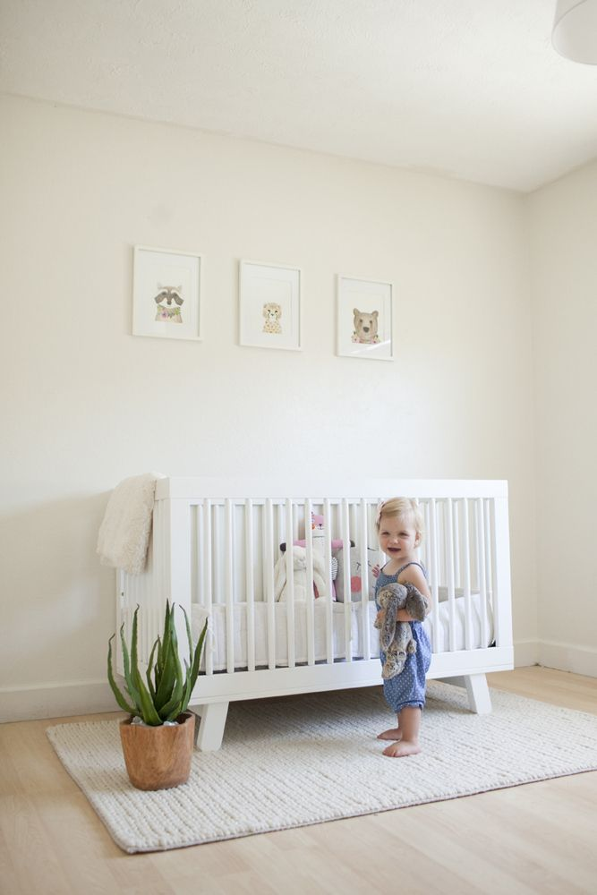 Best Simple Clean Nursery With Animal Prints And A Plant 640 x 480