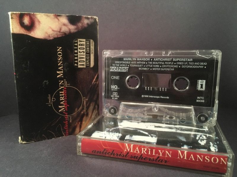 Lyric antichrist superstar lyrics meaning : MARILYN MANSON - antichrist superstar - CASSETTE TAPE - 90's rock ...