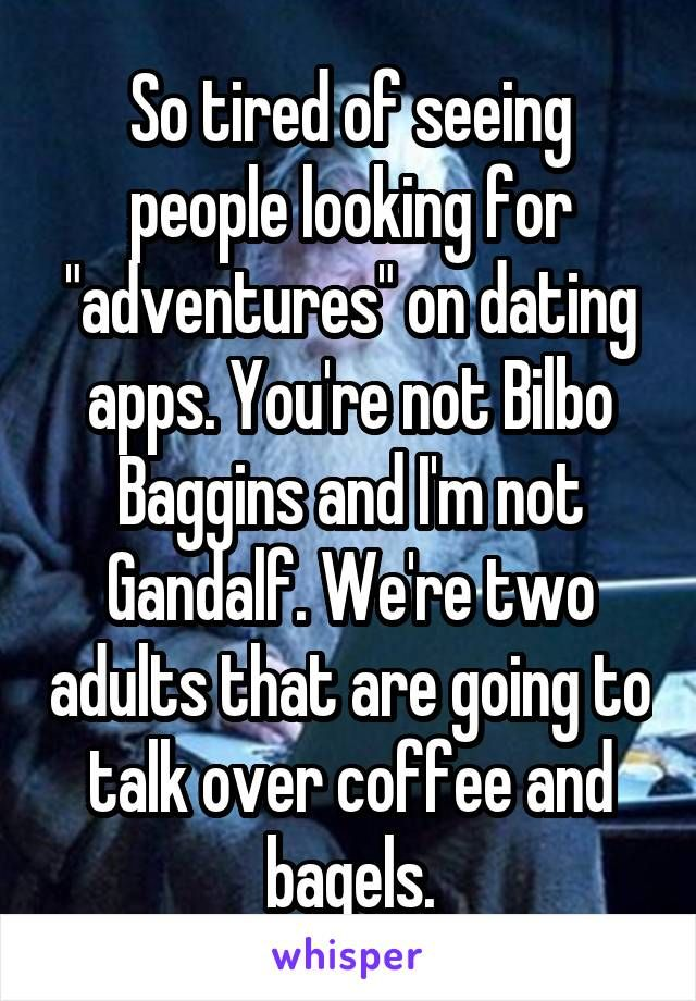 Adventure dating app