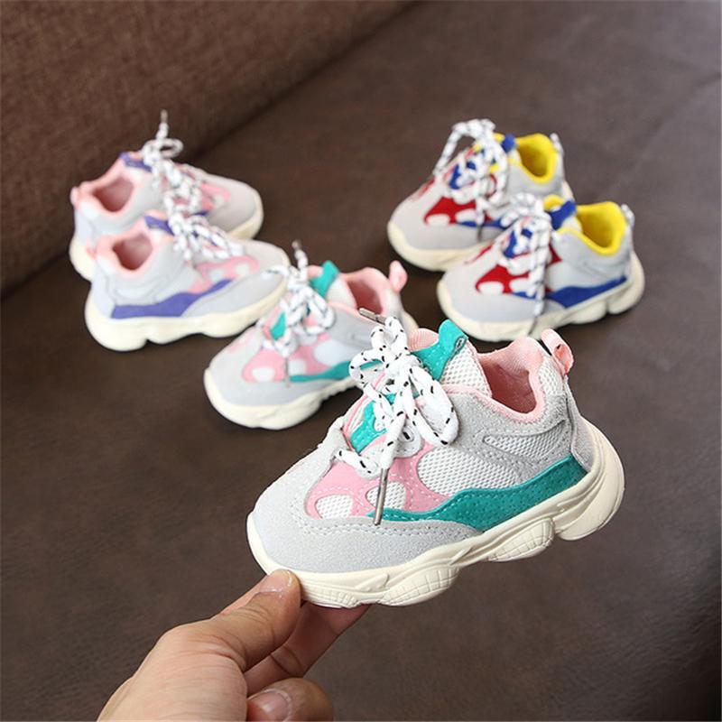 Popular Infant Non-Slip Newborn Soft Bottom 3 Colors Shoes Baby Girls Boys