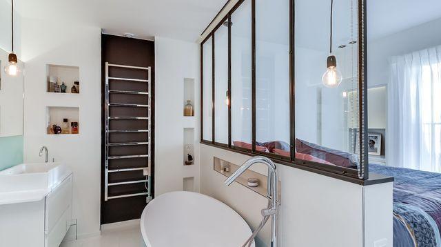 Suite parentale  idées déco pour décorer sa chambre avec salle de bains