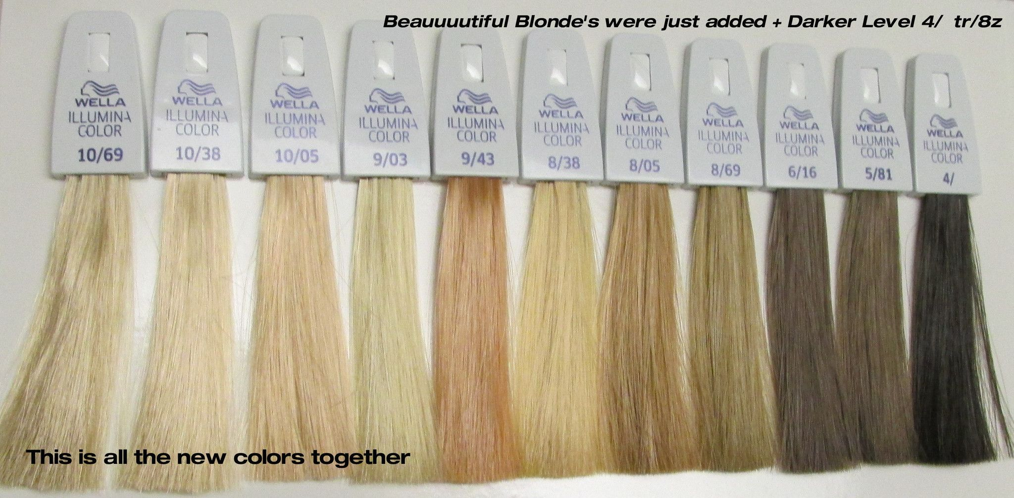 Illumina hair color shades google search wella toner chart also ideas pinterest rh