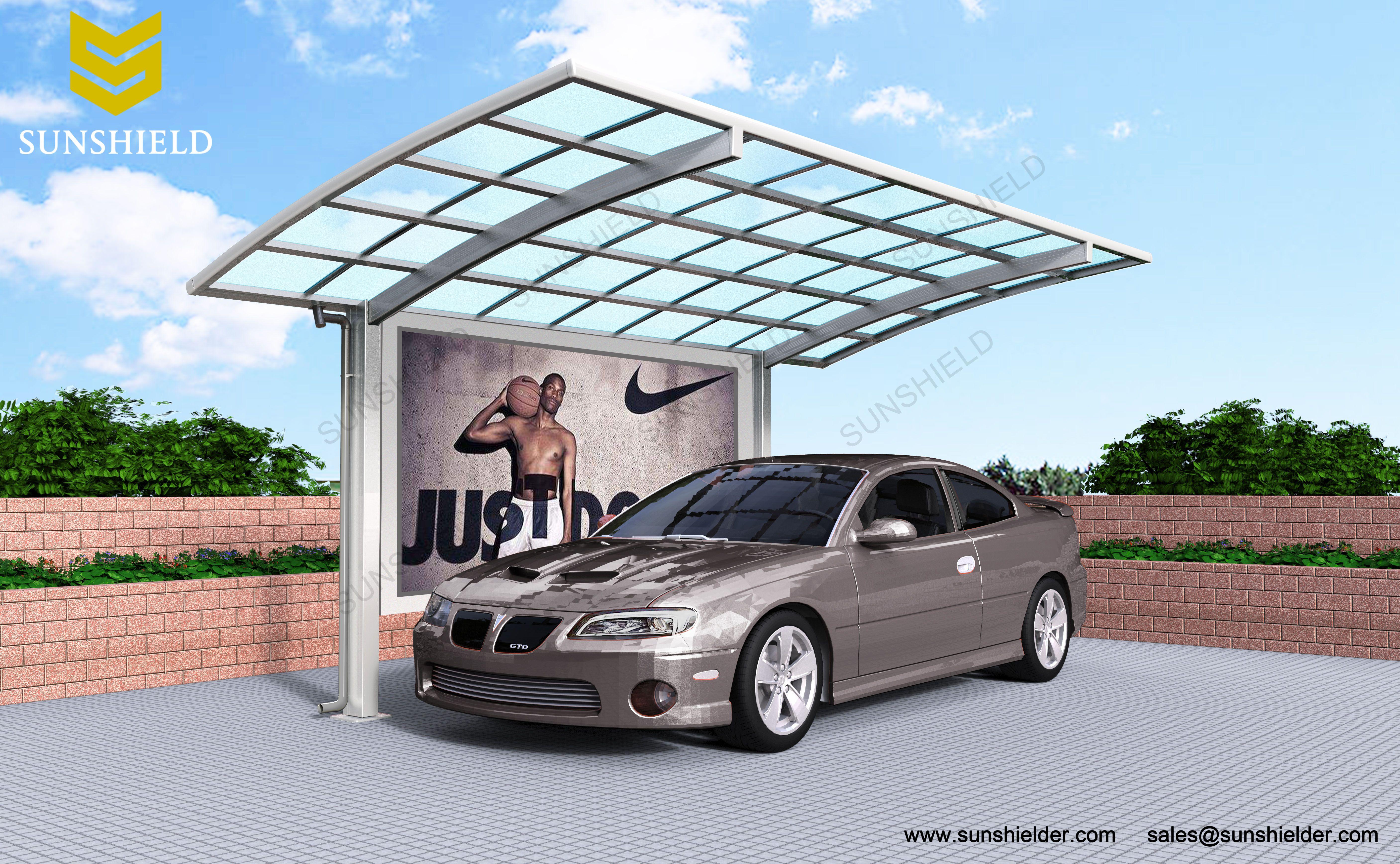Retractable Sun Room Aluminum carport, Patio enclosures