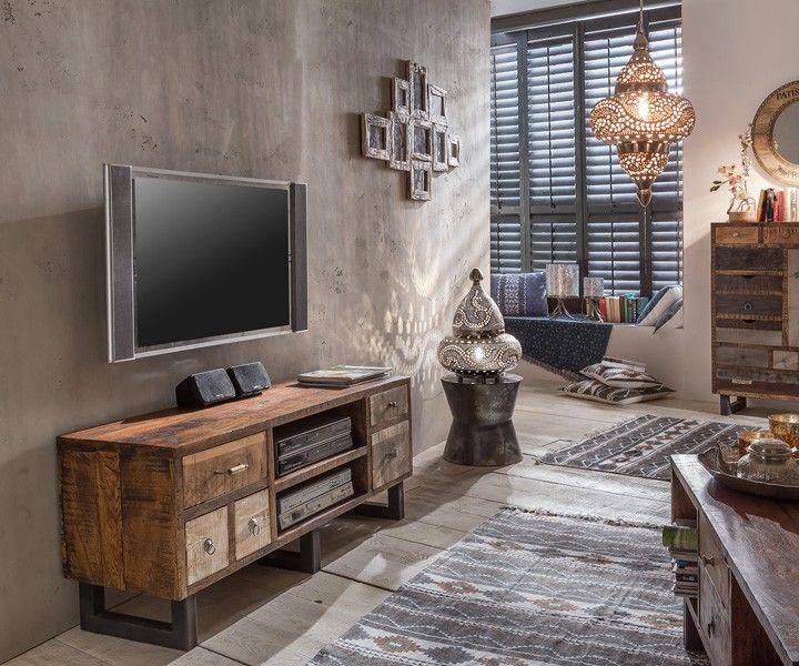 Unikat Fernsehtisch PRIYA   Vintage Style Möbel in 2019 ...