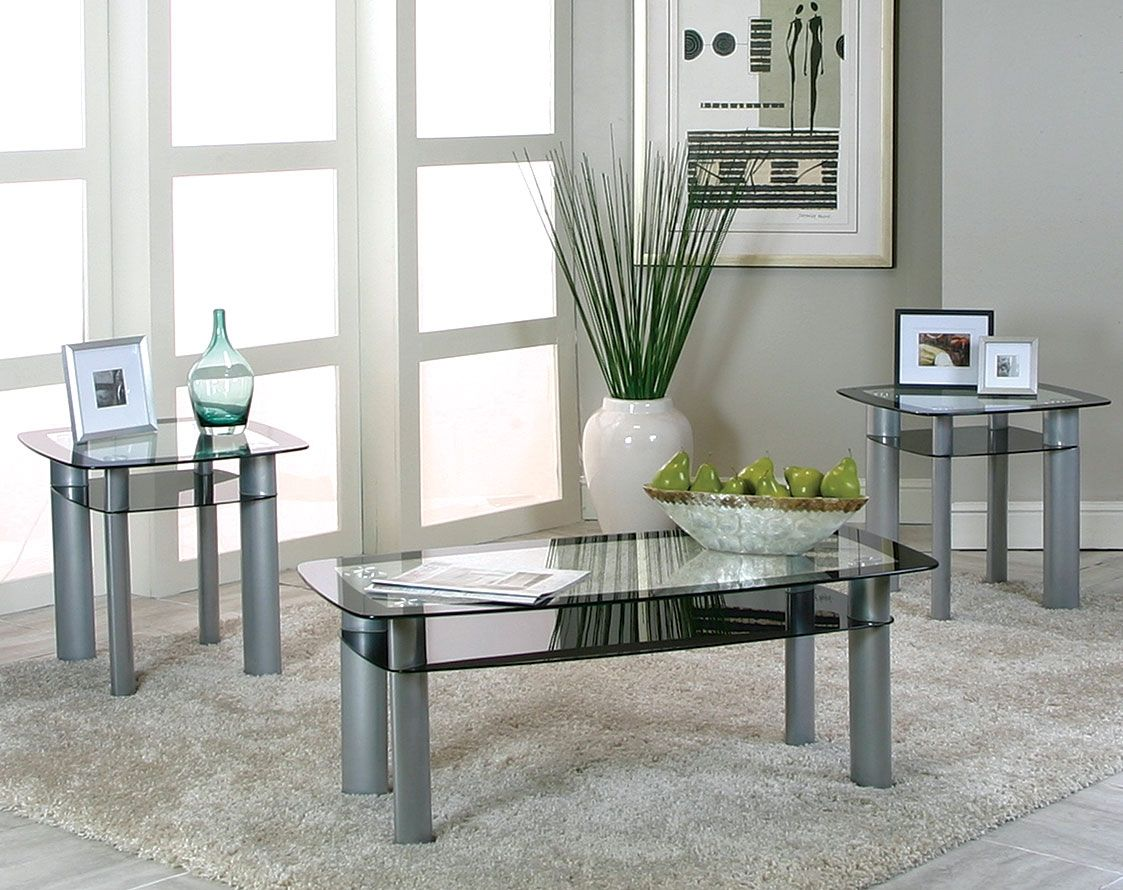 Modern glass end table  American Freight Hudson Coffee Table  therapybychance