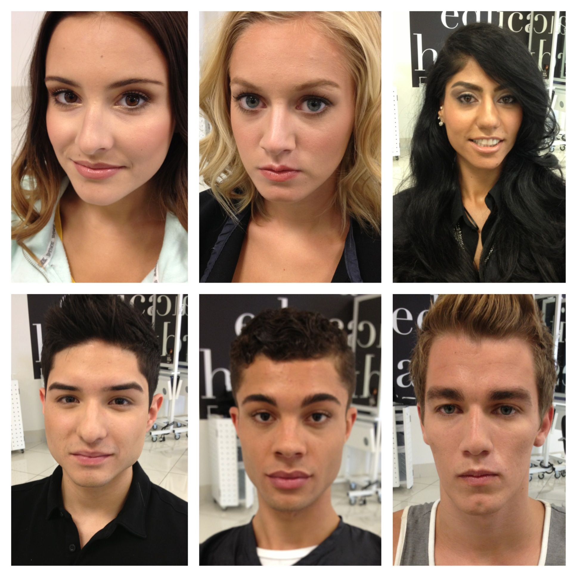 Makeup by me at the toni guy academy in scottsdale az