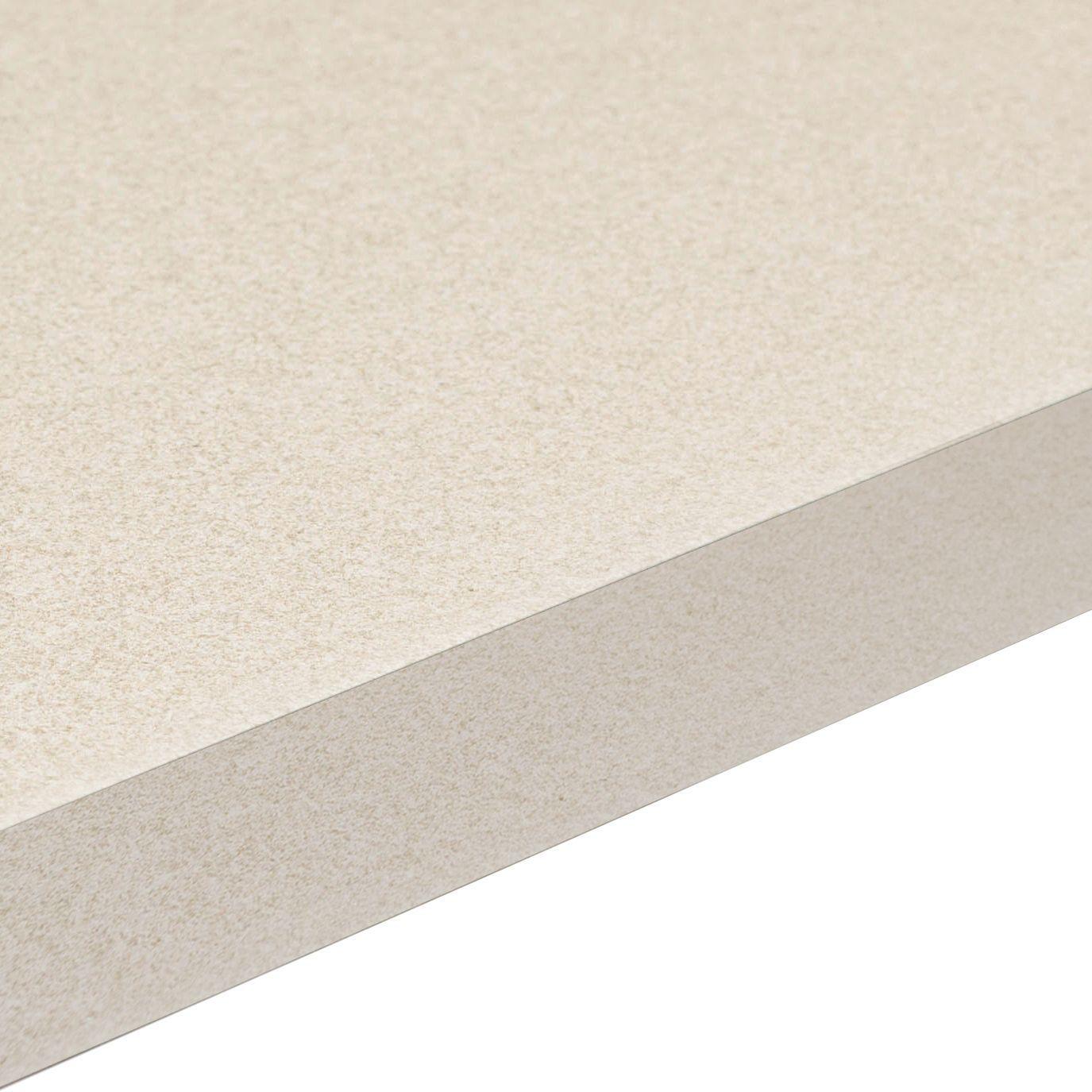 38mm Aura White Laminate Gloss Granite Effect Square Edge Worktop (L ...