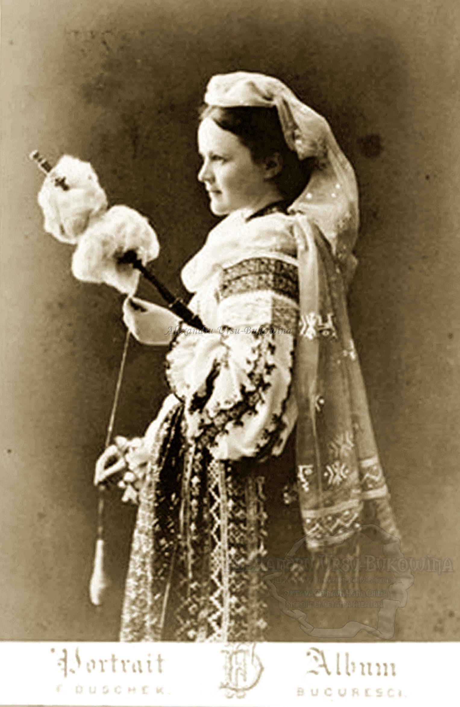 Queen Elizabeth of Romania. Regina Elisabeta a României.